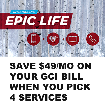 GCI Cable Epic Life Offer Specials
